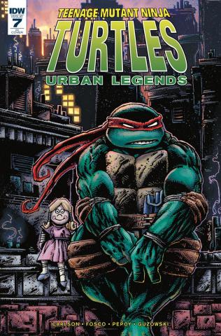 Teenage Mutant Ninja Turtles: Urban Legends #7 (10 Copy Eastman Cover)