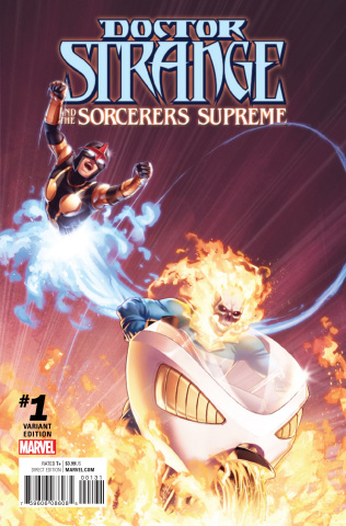 Doctor Strange and the Sorcerers Supreme #1 (Champions Cover)