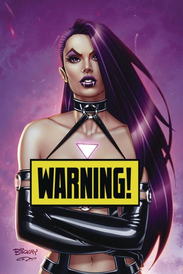 Vampblade, Season Four #1 (McKay Virgin Risque Cover)