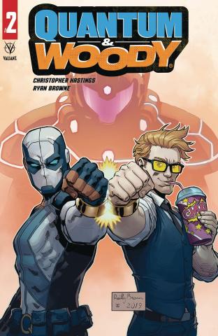 Quantum & Woody #2 (Brown Cover)