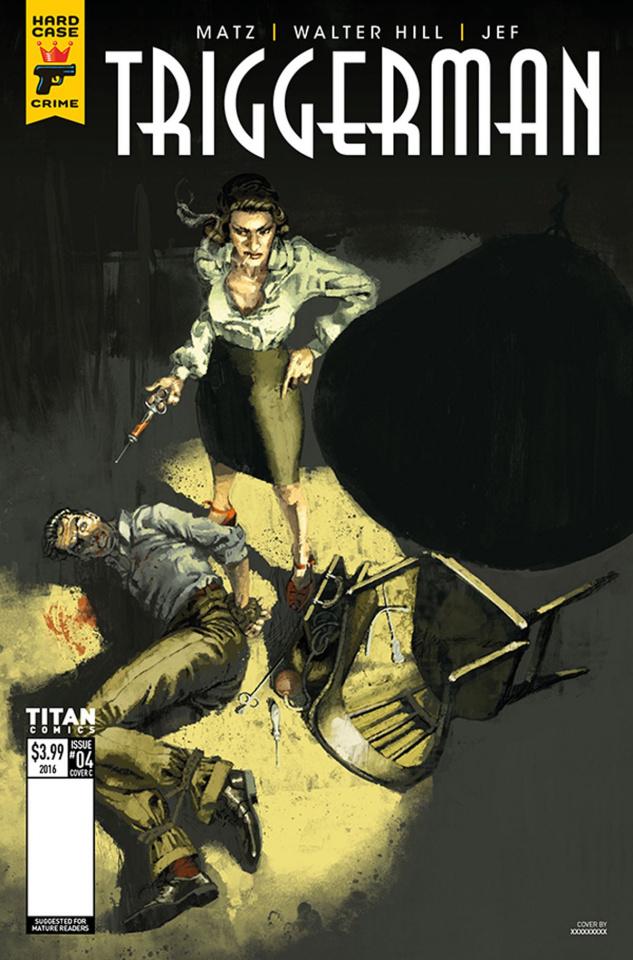 Hard Case Crime: Triggerman #4 (Aspinall Cover)