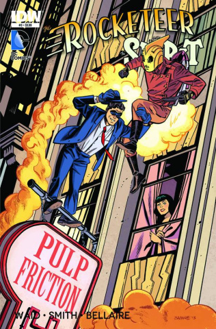 The Rocketeer/The Spirit: Pulp Friction #3