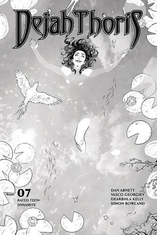 Dejah Thoris #7 (25 Copy Georgiev B&W Cover)