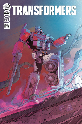 The Transformers #37 (Piriz Cover)