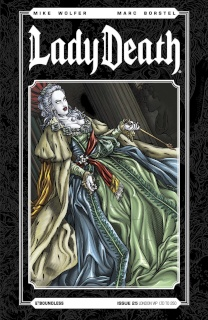 Lady Death #25 (London VIP Cover)