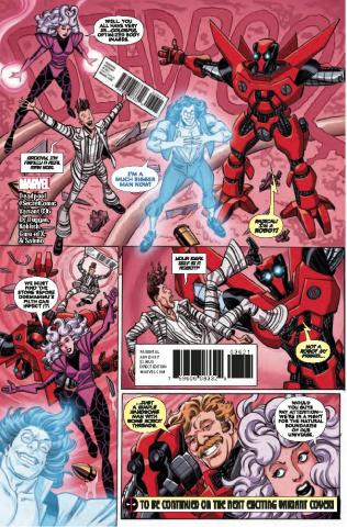 Deadpool #36 (Koblish Secret Comic Cover)