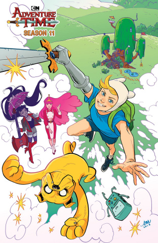 Adventure Time, Season 11 #1 (15 Copy Mok Cover)