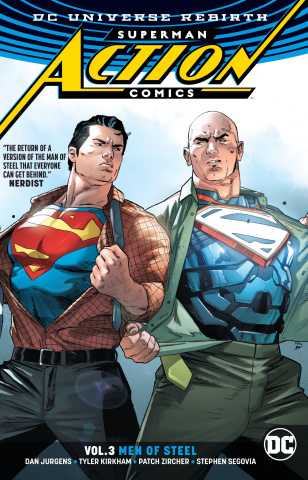 Action Comics Vol. 3: Men of Steel (Rebirth)