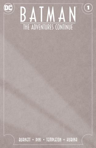 Batman: The Adventures Continue #1 (Blank Cover)