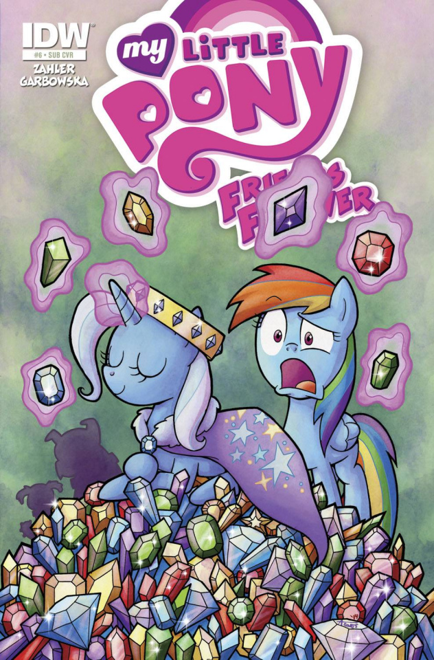 My Little Pony: Friends Forever #6 (Subscription Cover)