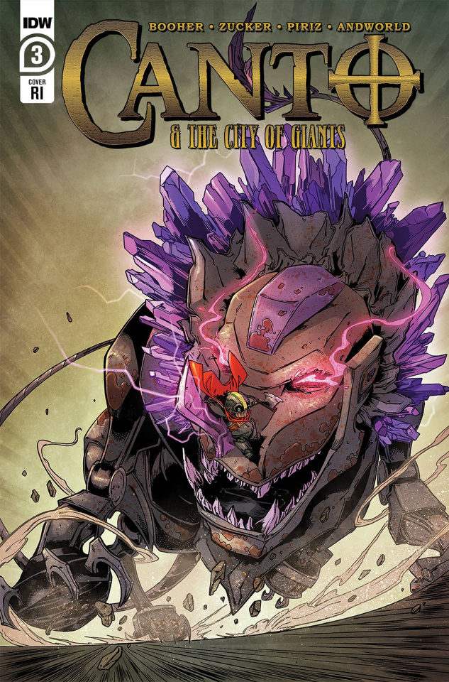 Canto and The City of Giants #3 (10 Copy Zucker Cover)