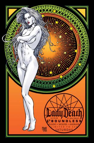 Lady Death #7 (San Diego Saturday Cover)