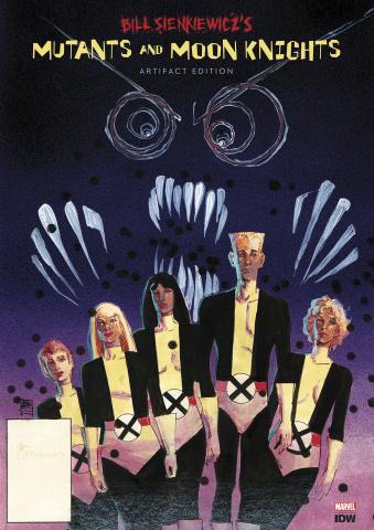 Bill Sienkiewicz's Mutants and Moon Knights Artifact Edition