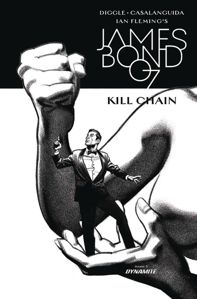 James Bond: Kill Chain #5 (10 Copy Smallwood B&W Cover)