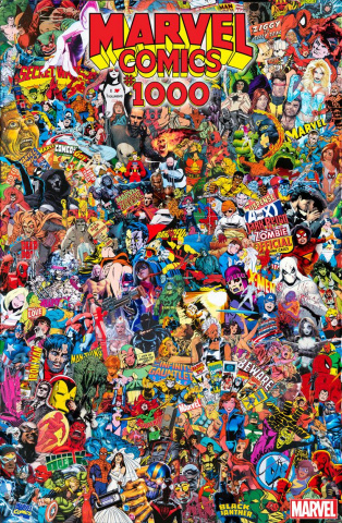Marvel Comics #1000 (Garcin Collage Cover)