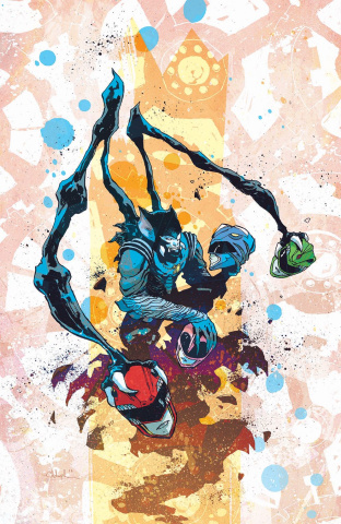 Mighty Morphin' Power Rangers #6 (Unlock Villian Cover)