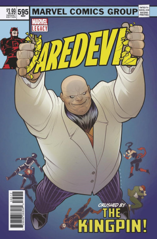 Daredevil #595 (2nd Printing)