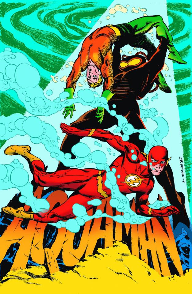 Aquaman #38 (Flash Cover)