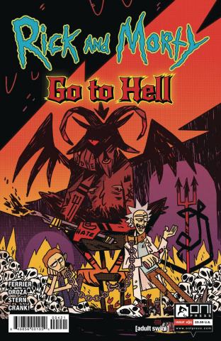 Rick and Morty Go to Hell #4 (Enger Cover)