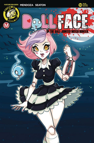 Dollface #10 (Stanley Pin Up Cover)