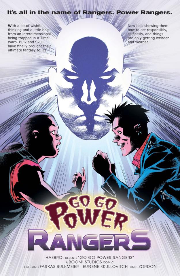 Go, Go, Power Rangers! #17 (25 Copy Melnikov Cover)