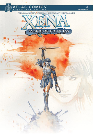 Xena: Warrior Princess #1 (Atlas Signed Edition)