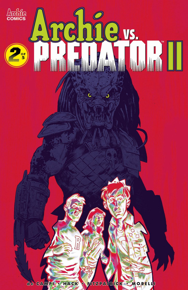 Archie vs. Predator II #2 (Walsh Cover)