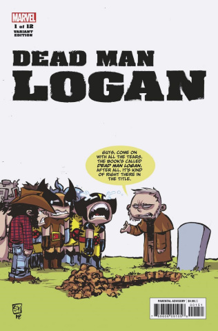 Dead Man Logan #1 (Young Cover)