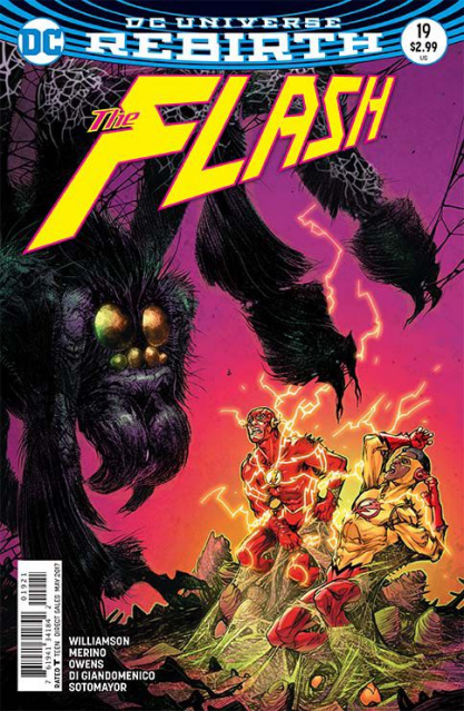 The Flash #19 (Variant Cover)