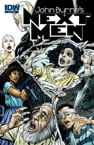 John Byrne's Next Men #5