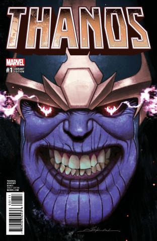 Thanos #1 (Dekal Cover)