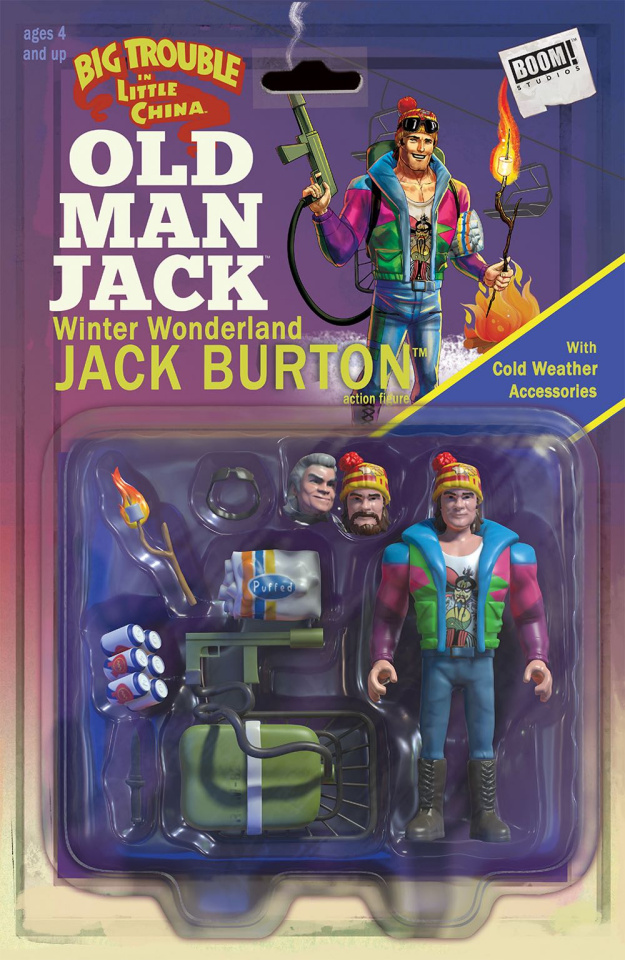 Big Trouble in Little China: Old Man Jack #3 (Subscription Cover)