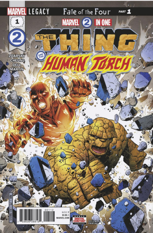 Marvel Two-In-One #1 (2nd Printing)