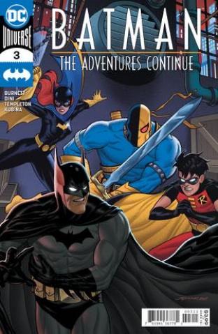Batman: The Adventures Continue #3 (Joe Quinones Cover)