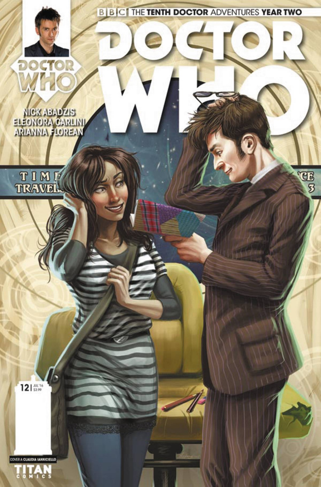 Doctor Who: New Adventures with the Tenth Doctor, Year Two #12 (Ianniciello Cover)