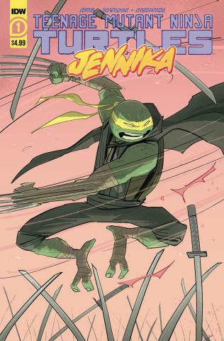 Teenage Mutant Ninja Turtles: Jennika #1 (Revel Cover)