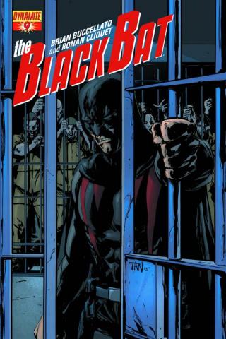 The Black Bat #9 (Tan Cover)