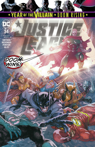 Justice League #34 (Year of the Villain)