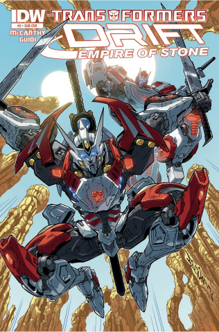 The Transformers: Drift - Empire of Stone #2 (Subscription Cover)