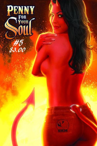 A Penny for Your Soul: The Temptation of Mary Magdalene Cover B