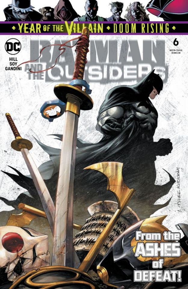 Batman and The Outsiders #6 (Year of the Villain)
