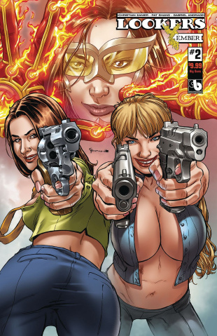Lookers: Ember #2 (Big Guns Cover)