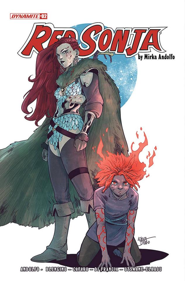 Red Sonja #2 (Urso Cover)