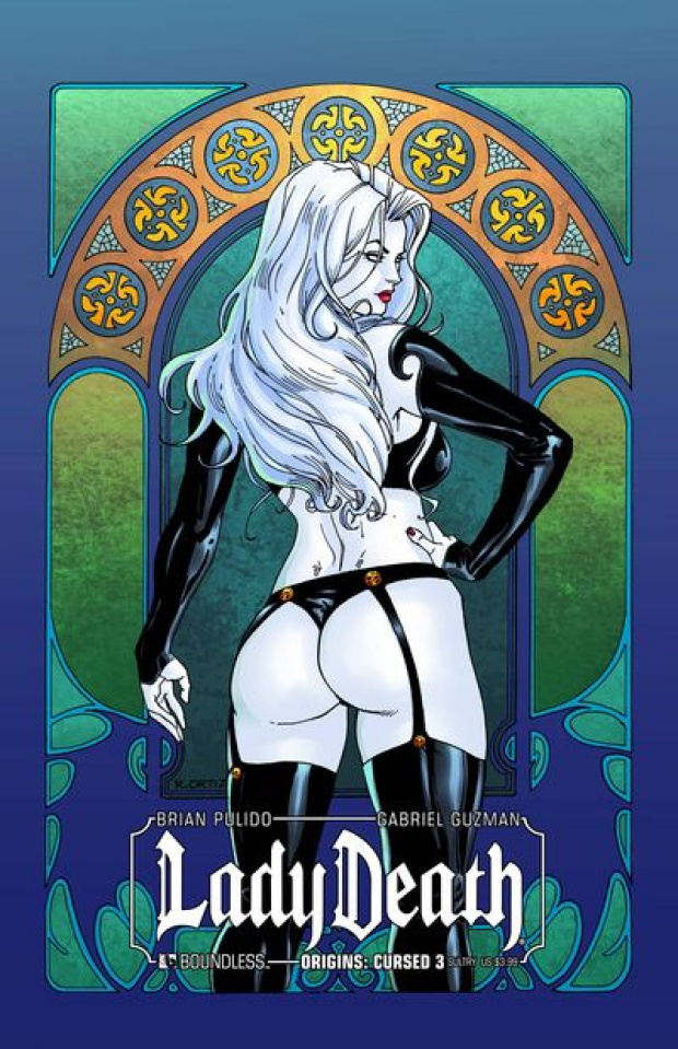 Lady Death Origins: Cursed #3 (Sultry Cover)
