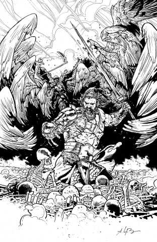 Skybound X #2 (10 Copy B&W Bressan Cover)