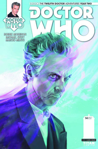 Doctor Who: New Adventures with the Twelfth Doctor, Year Two #14 (Caranfa Cover)