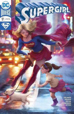 Supergirl #17 (Variant Cover)
