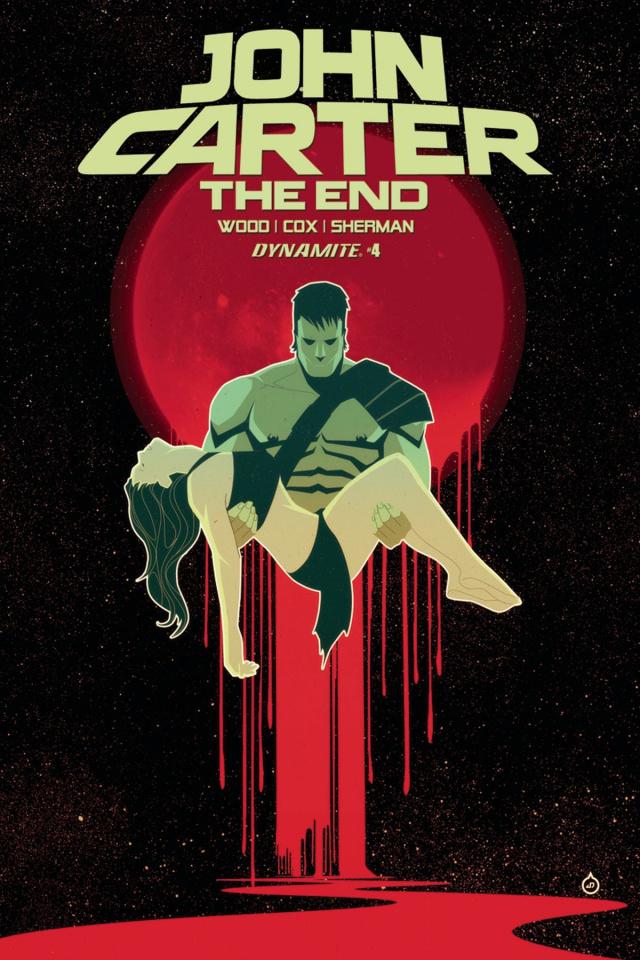 John Carter: The End #4 (Doe Cover)