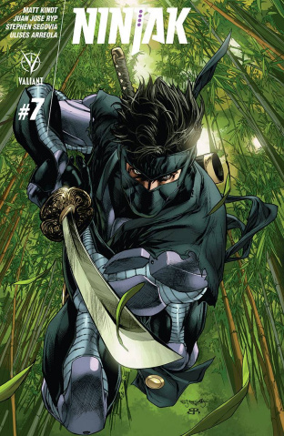 Ninjak #7 (20 Copy Segovia Cover)
