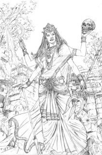 E.V.I.L. Heroes #5 (Malsuni Cover)